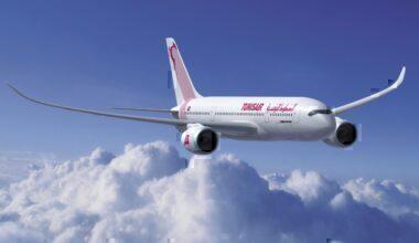 Airbus A350-800 Tunisair