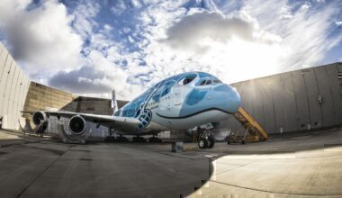 All Nippon Airways, Airbus A380, Flight to nowhere
