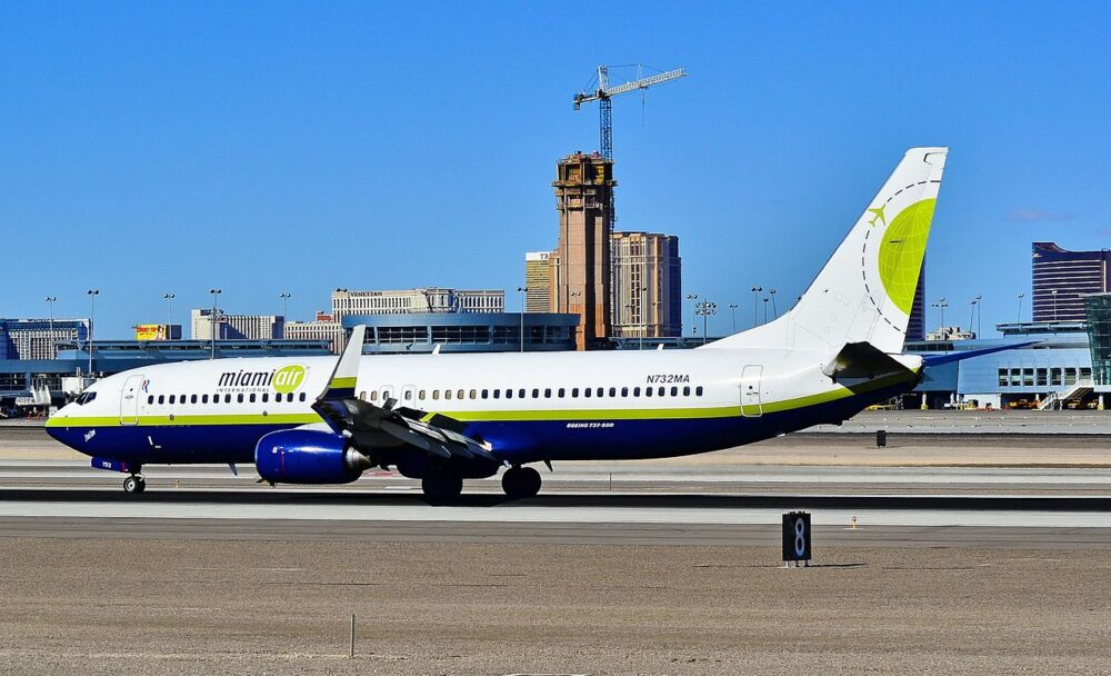 Miami Air 737 Jet