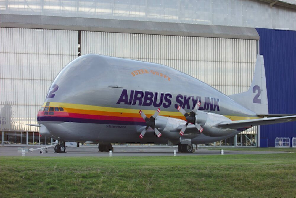 The Airbus Skylink, or Super Guppy