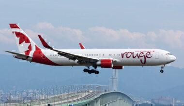 Rouge Air Canada 767