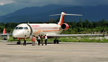 Air India CRJ700 Dehradun