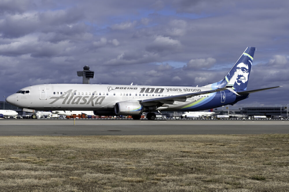 Alaska Airlines (Boeing 100 years strong Livery) Boeing 737-990(ER) N248AK