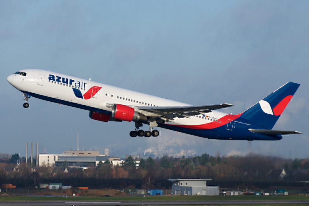 An Azur Air 767
