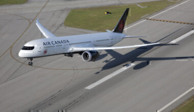 Canadian-airlines largest-fleets