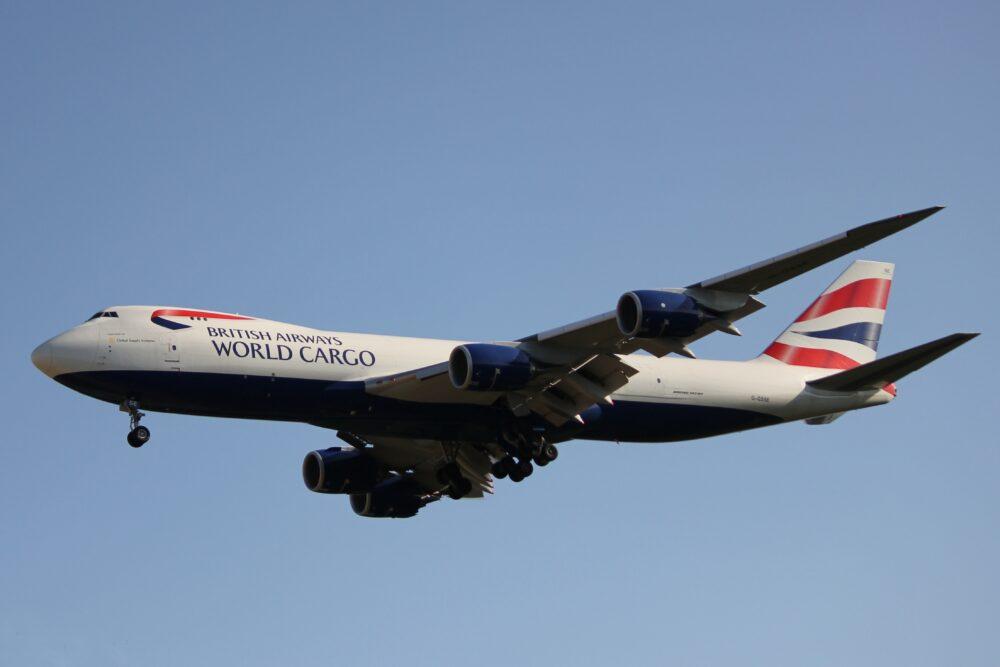 British Airways Cargo 747-8