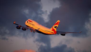British Airways Boeing 747-436 G-BYGE