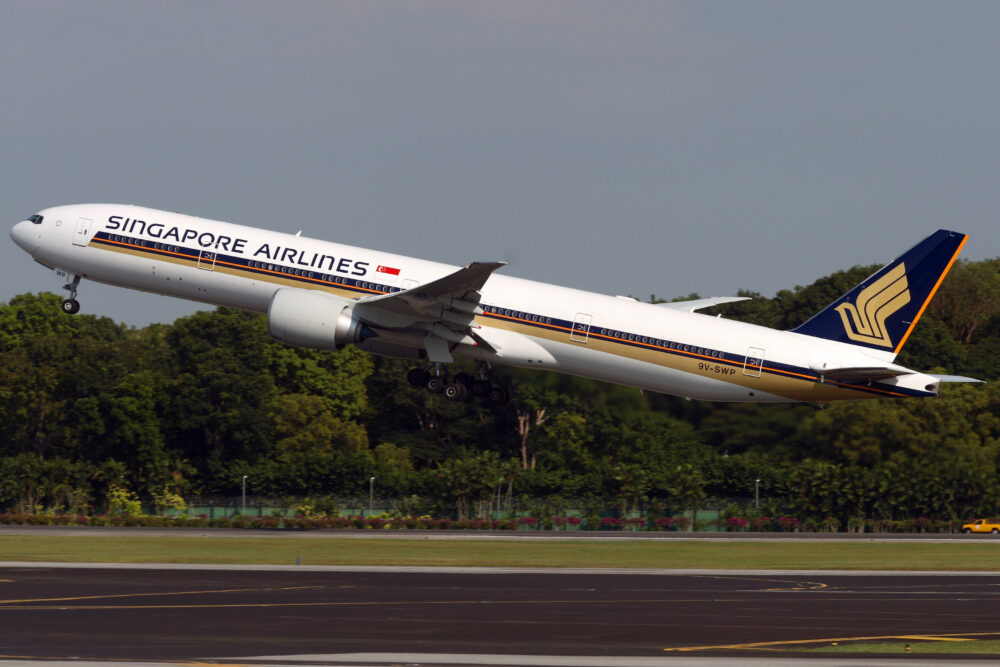 Singapore Airlines 777-300ER aircraft