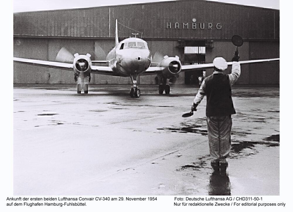 Hamburg airport 1954
