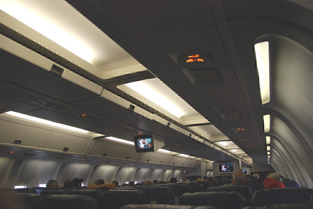 US Airways 767 IFE screen