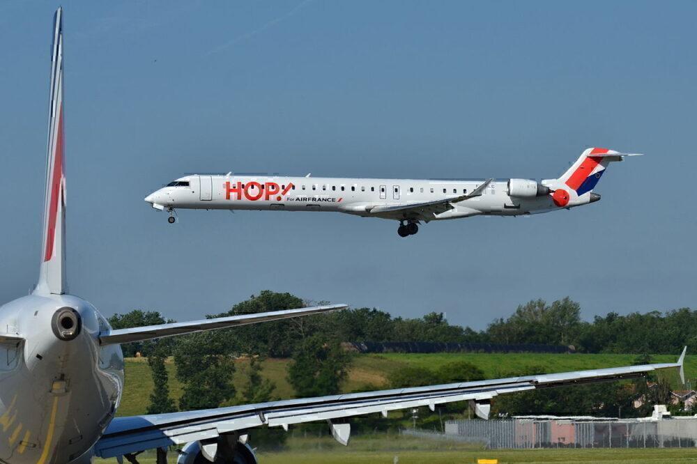 CRJ1000 HOP!