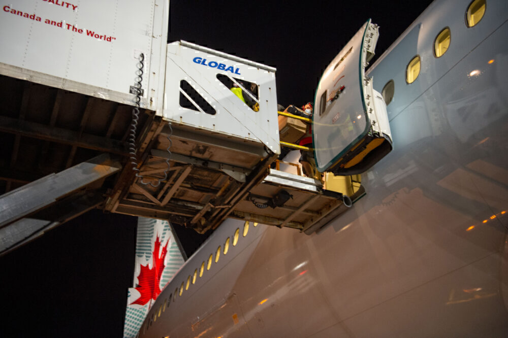 Air Canada cargo conversion 767