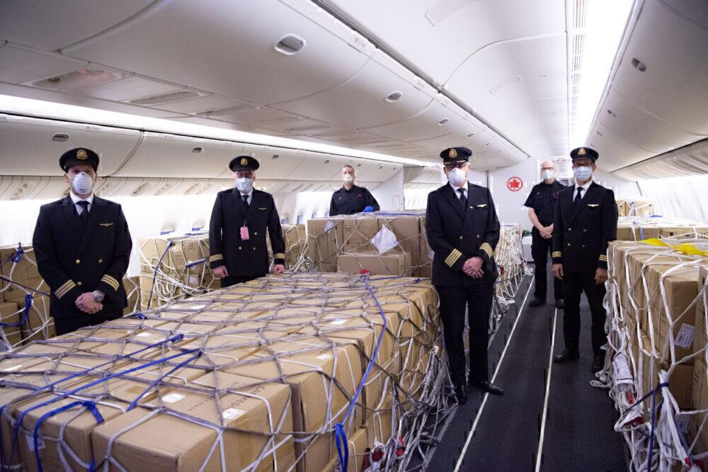 Air Canada cargo conversions