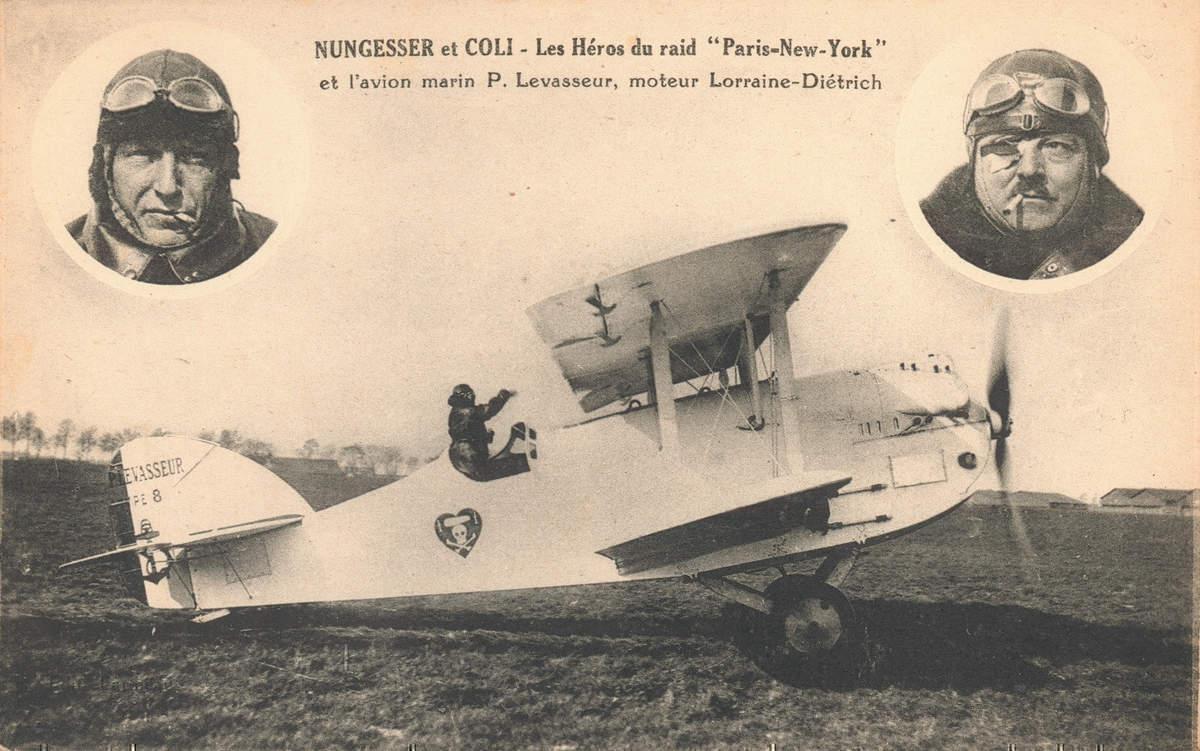 Charles Nungesser and François Coli