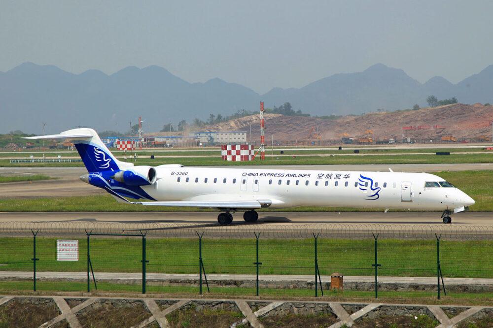 CRJ-900 China Express