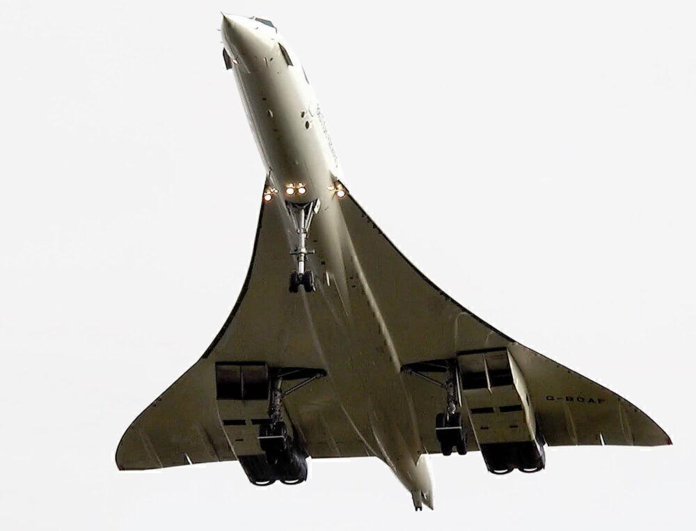 Concorde plan view
