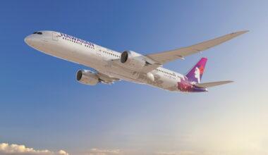 Hawaiian Airlines Boeing 787