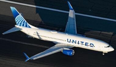 United Airlines Runway