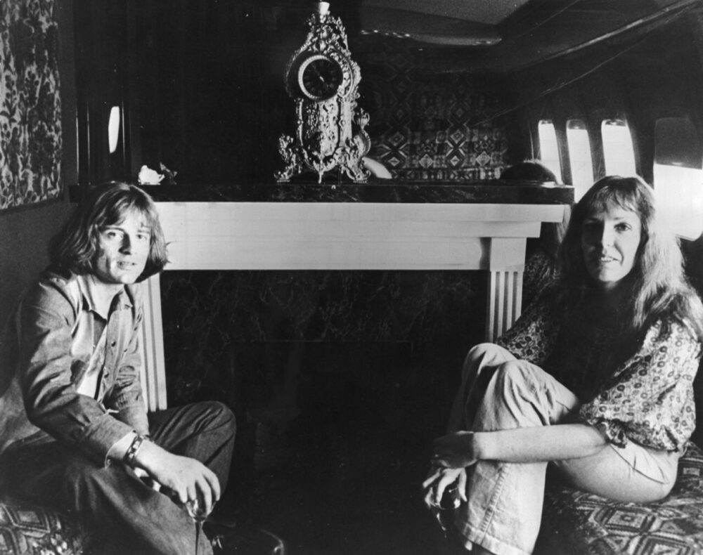 Led Zeppelin Boeing 720 Starship Inside