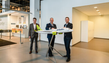 airbaltic ceo, A220 Pilot, Martin Gauss