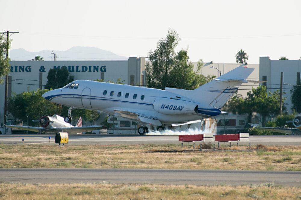 Van Nuys Business jet