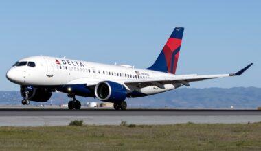 Delta Air Lines Airbus A220-100 N116DU