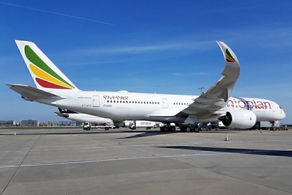 Ethiopian A350 ET-ATY