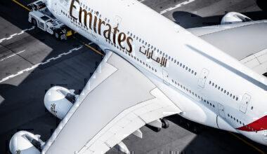 Emirates Airbus A380-861 A6-EDO