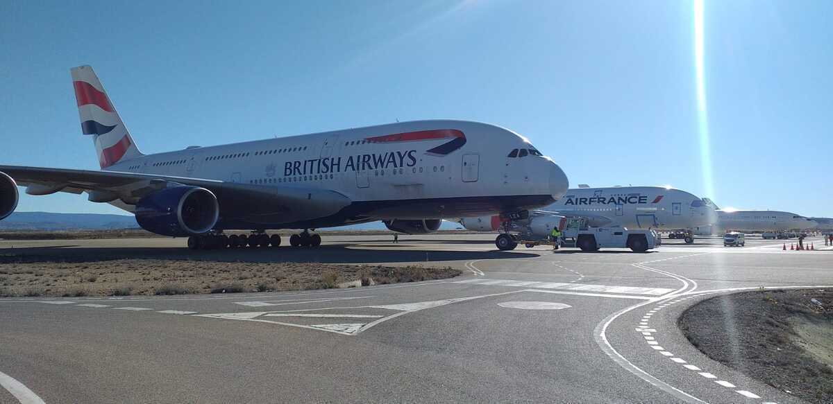 British Airways Flies Another A380 To Spanish Aircraft Graveyard - Simple Flying