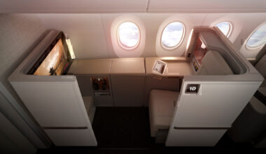 China Eastern A350 air living room business class