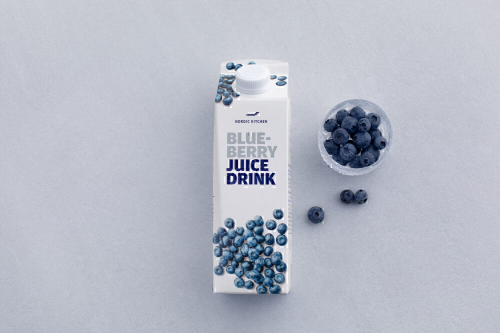 Finnair Blueberry juice