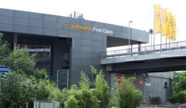 Frankfurt Lufthansa First class