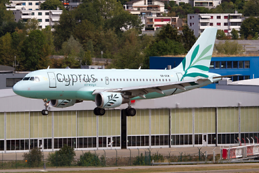 Cyprus Airways banned from flying passengers to Moscow
