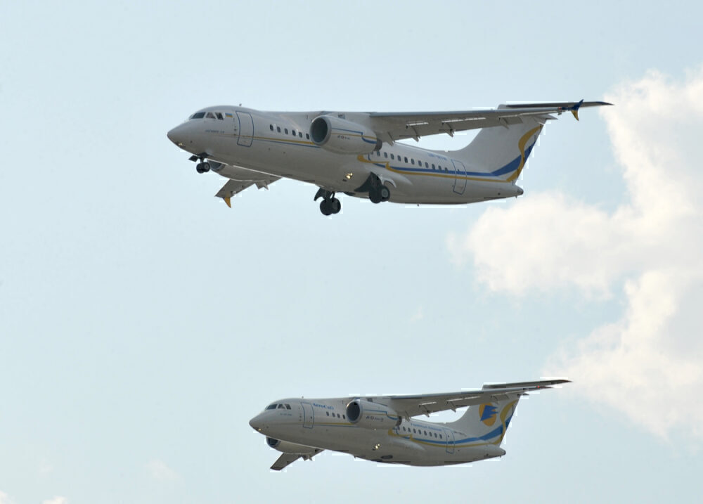 Antonov An-148 & An-158 Convoy