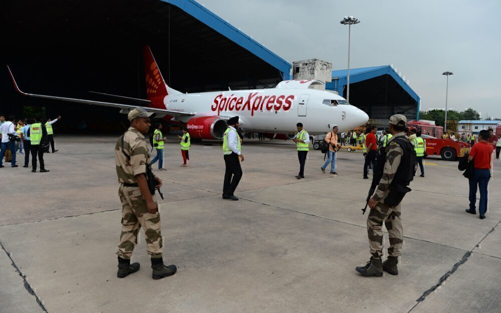SpiceXpress SpiceJet Cargo Getty