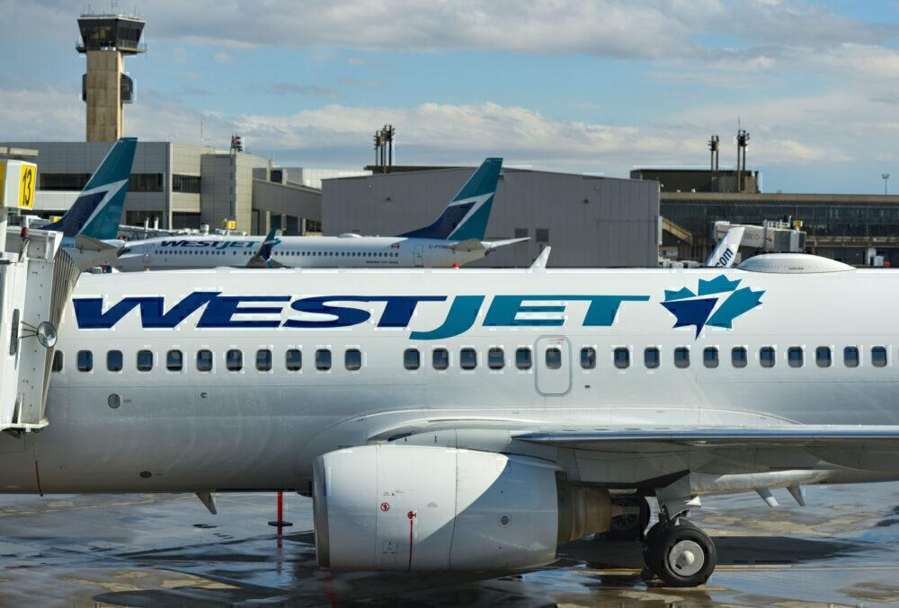 WestJet Getty