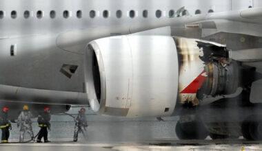 Qantas A380 QF32 VH-OQA uncontained engine failure