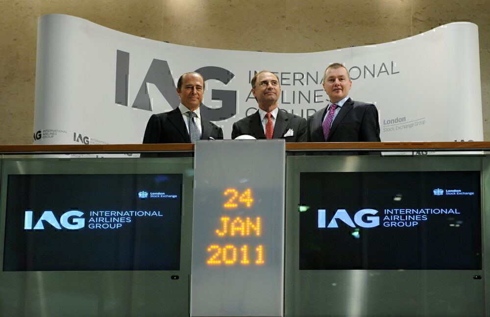 IAG stock market opening