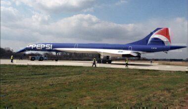 Air France Concorde Pepsi Getty 1