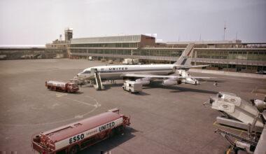 Boeing 720 New York Getty