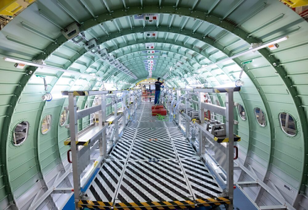 A320 fuselage airbus factory