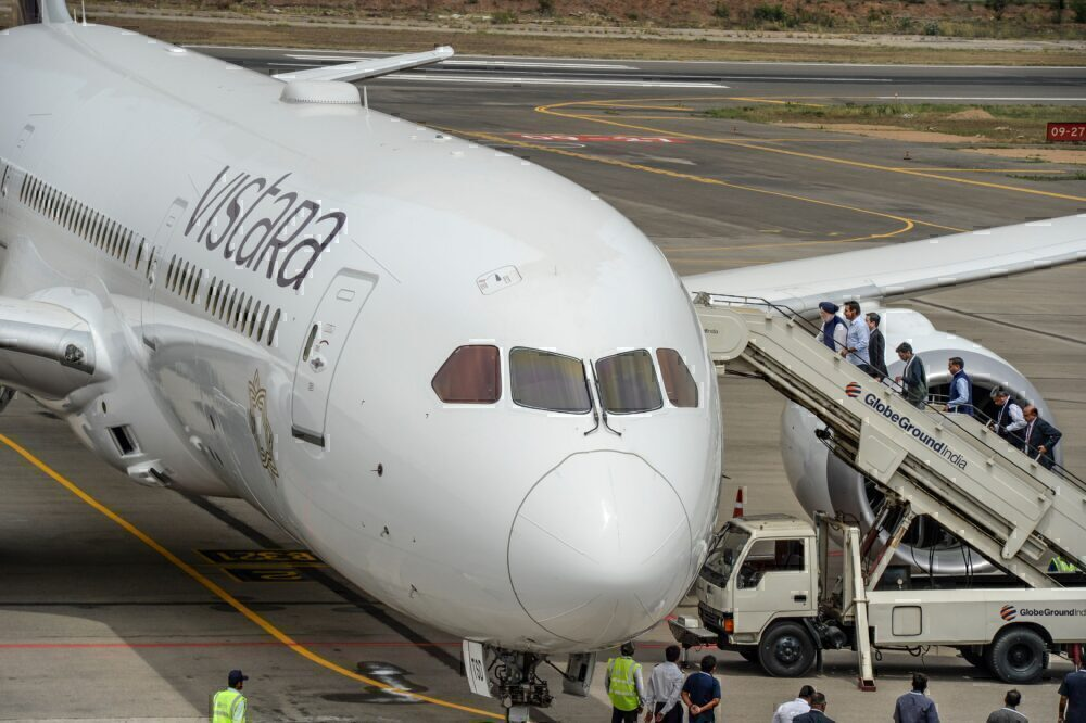Vistara 787-9 Dreamliner