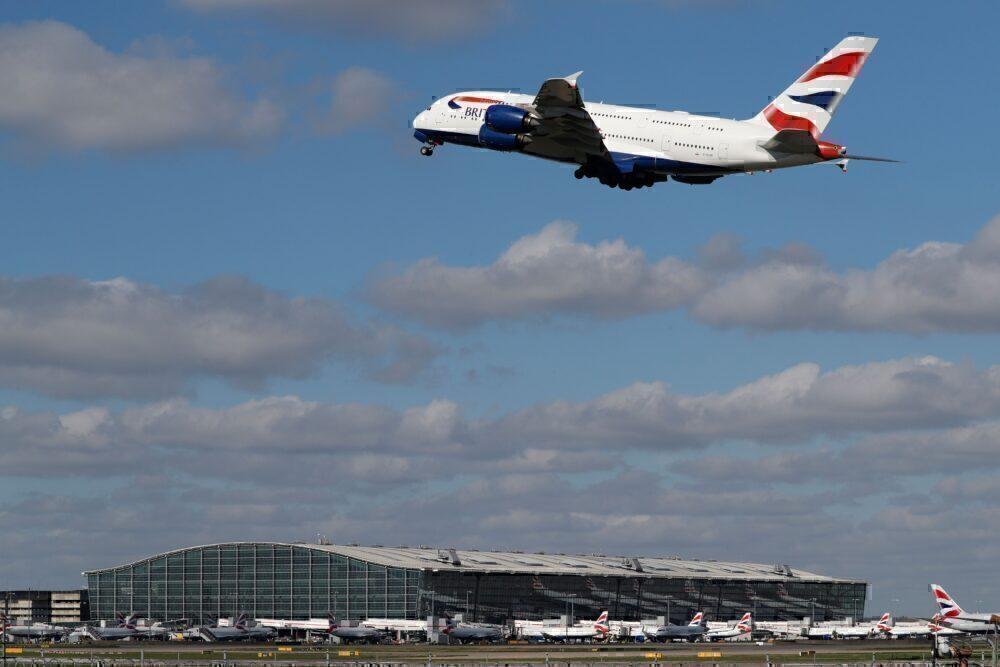 British Airways A380 heathrow