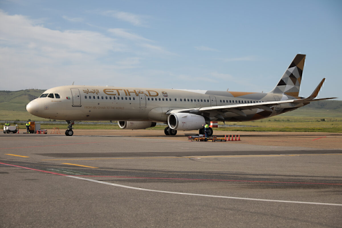 Etihad A321 getty