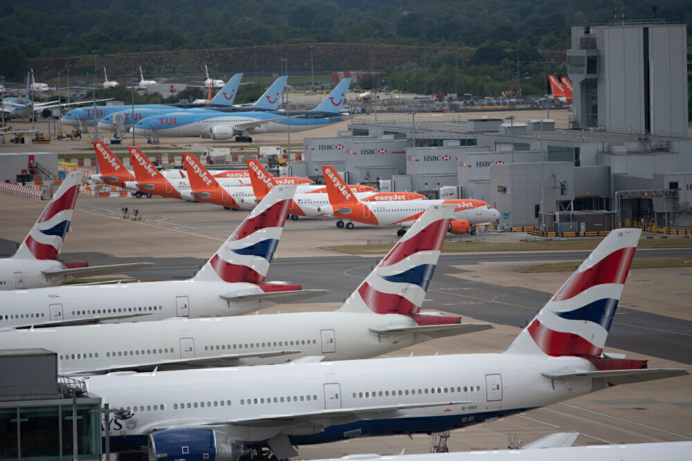 Gatwick, London, British Airways, Easyjet