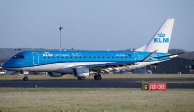 KLM trims UK network