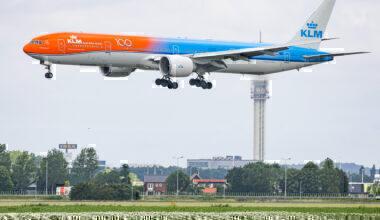 KLM Boeing 777 Getty