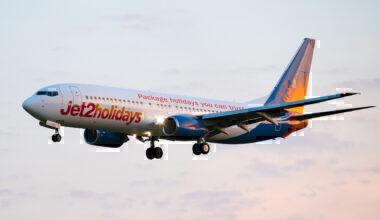 Jet2 Holidays Boeing 737