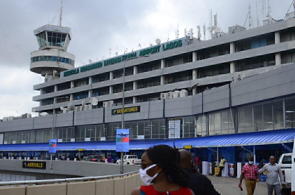 Lagos Airport Nigeria COVID-19