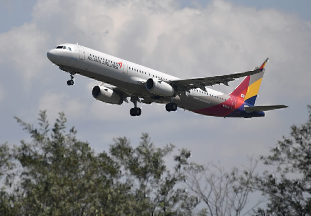 Asiana Korean Airlines